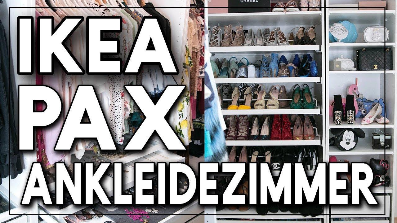 Ikea Pax Ankleidezimmer Planen Umdekorieren Sara Bow Youtube