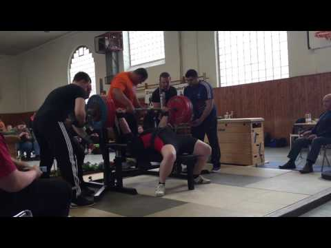 Sven Lange 280kg @ North-German Championships Bench Press 2016