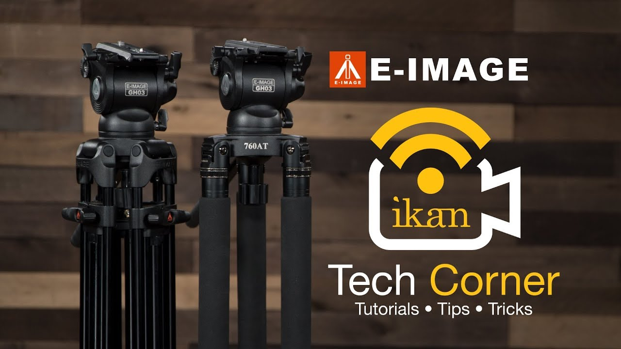 Comparing The Eg03tt And Eg03a2 E Image Tripods Ikan Tech Corner
