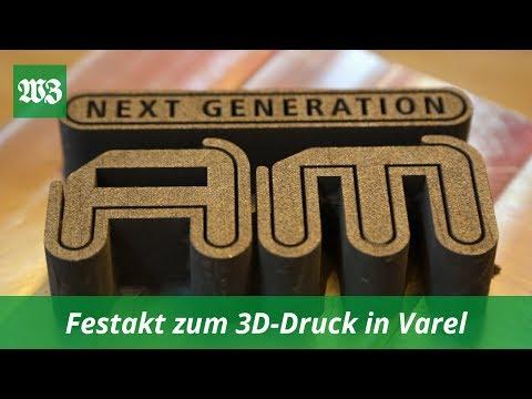 Festakt zum 3D-Druck in Varel | Wilhelmshavener Zeitung