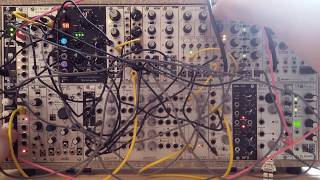 Live Jam #94 - Experimental / Deep / Techno - Eurorack modular synth, Black wavetable VCO, Wasp