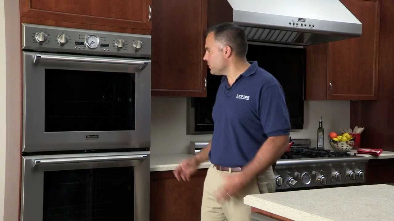 thermador double wall oven appliances nj topline appliance center new jersey