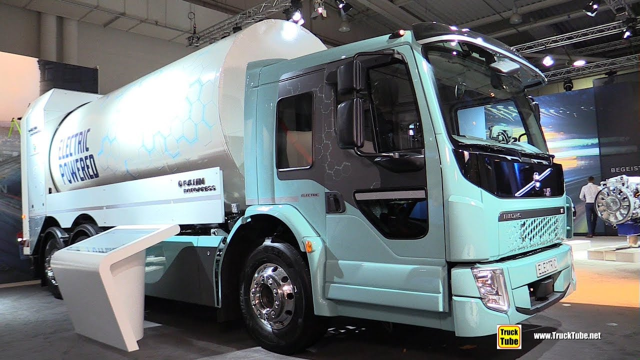 2019 Volvo Fe Electric Garbage Truck Exterior And Interior Walkaround Iaa Hannover