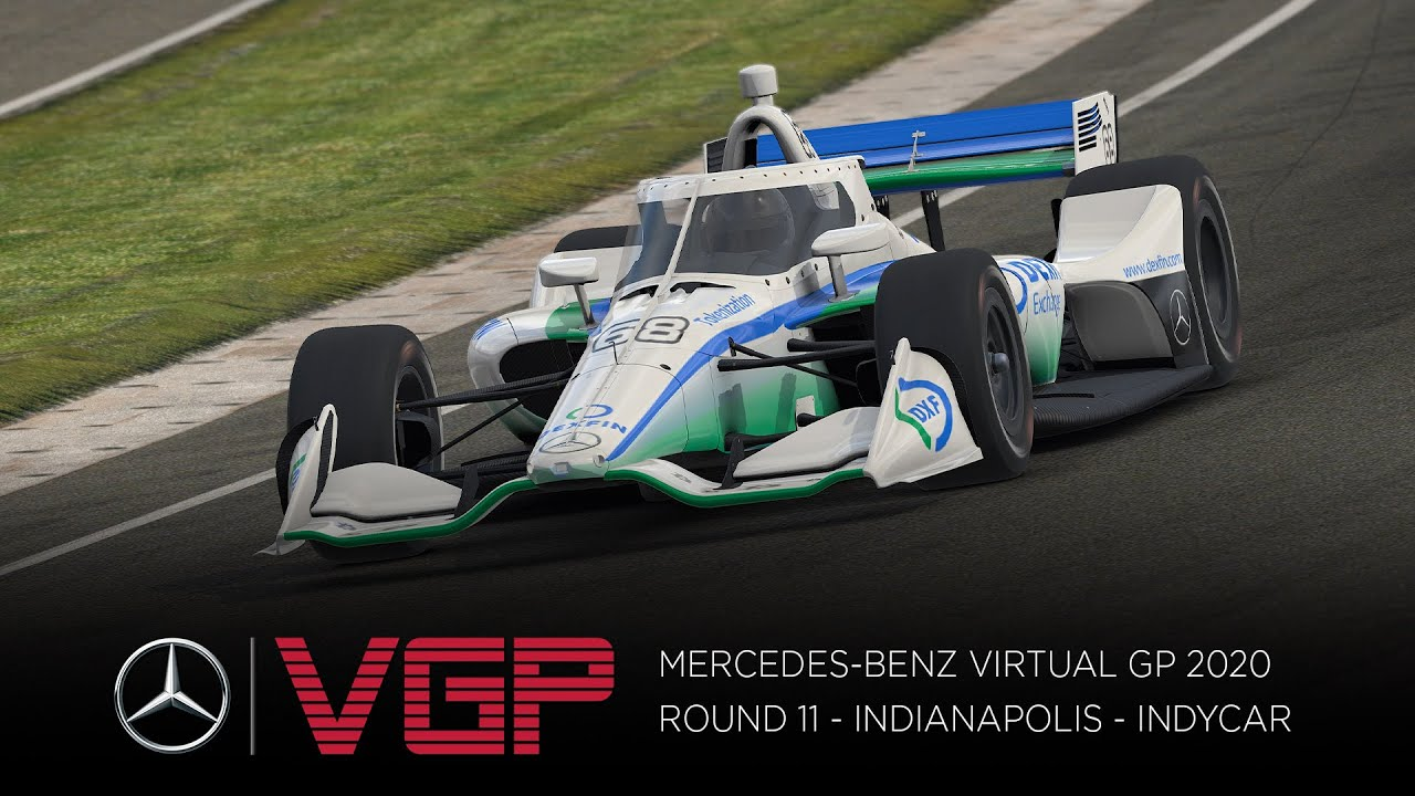 Live: Mercedes-Benz Virtual GP 2020 – Indianapolis – (English) – YouTube