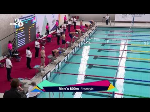 Swimming Championship 2017 Live Canal 26 Aguascalientes México.