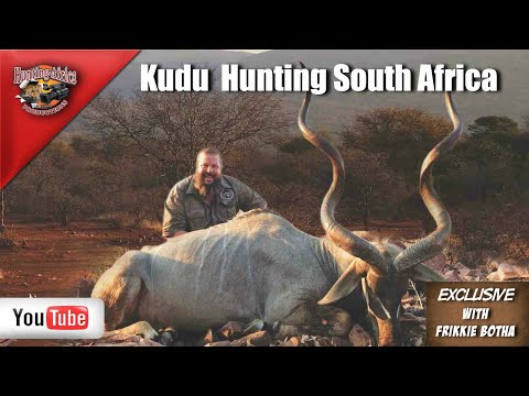 Frikkie Botha Kudu Hunt South Africa
