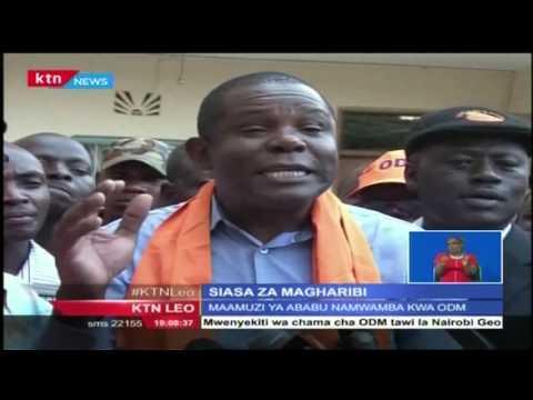 Kiongozi wa ODM ataanza ziara ya wiki nzima katika eneo la Magharibi ya nchi kuanzia jumatatu