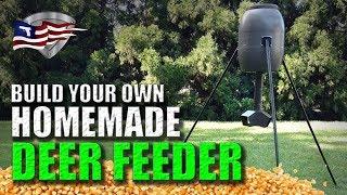 How to Build A Homemade Deer Feeder