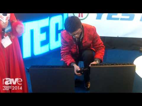 ISE 2014: Yes Tech Launches LED Magic Stage Tiles