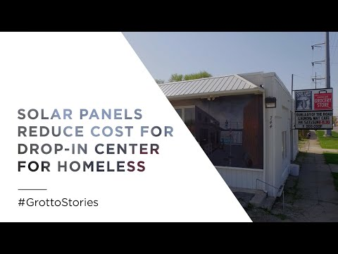 Solar Panels Reduce Cost for Homeless Drop-In Center