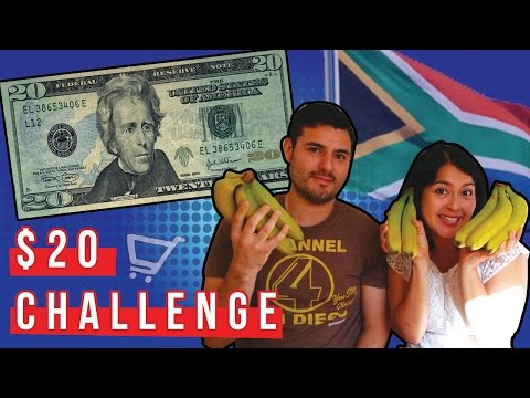 South Africa | 20 Dollar Grocery Challenge