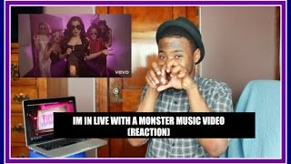 i m in love with a monster fifth harmony music video reaction