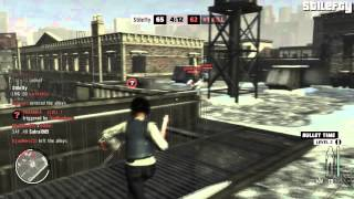 Max Payne 3 Multiplayer - Large Team Deathmatch - Sick Sniping