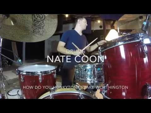 """Nate Coon recording """"How Do You Honky Tonk"""""""