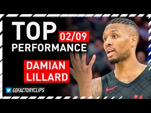 Damain Lillard 50 Points vs Sacramento Kings, CRAZY Full Highlights | 2018.02.09