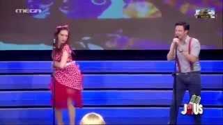 Just The Two Of Us 2: 1ο Live Δημήτρης Μακαλιάς & Αντιγόνη Ψυχράμη {2/4/2014}