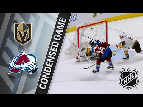 03/24/18 Condensed Game: Golden Knights @ Avalanche