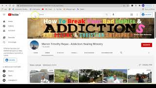 How I Created My Youtube Channel Living In Recovery From Addictions And You Can Too - Day 10 & 11