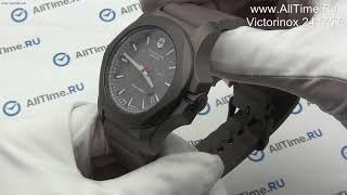 Обзор. Швейцарские титановые наручные часы Victorinox 241757