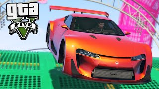 GTA Online: Acrobacias em LOS SANTOS!! -Corrida ACROBÁTICA #4