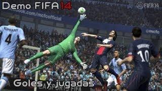 Gameplay FIFA 14 Demo - Recopilación de goles y jugadas + impresiones