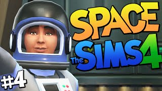 Sims 4 - SPACE? Being an Astronaut in The Sims 4 (Sims 4 Funny Moments) #4 Thumbnail