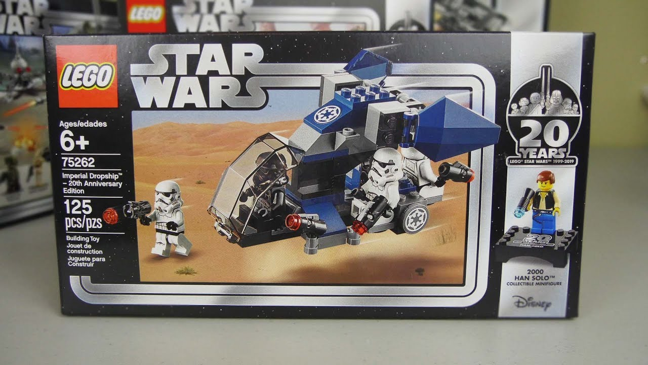 Star 20th Edition75262Should Buy Wars You Lego Imperial Dropship Anniversary 08PnwOkX
