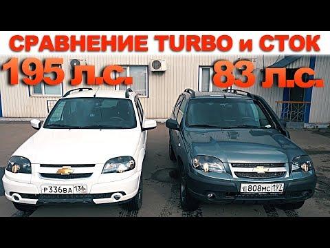 CHEVROLET NIVA 2019 TURBO НИВА / ВЕСТА Турбо первая поездка