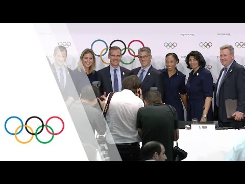 Los Angeles 2024 Candidate City Press Conference