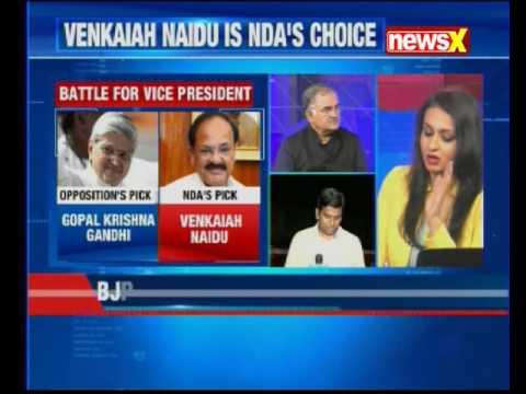Vice-Presidential Poll: BJP president Amit Shah announces Venkaiah Naidu as NDA's candidate