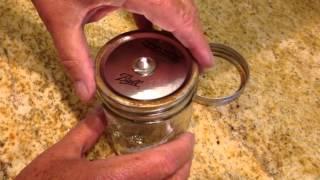 DIY - How To Make a Mason Jar Oil Lamp