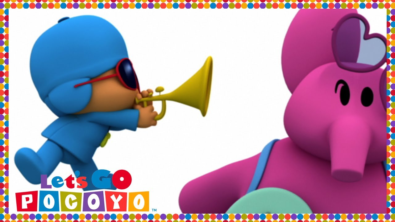 Let s go pocoyo pocoyo s band s03e01 youtube
