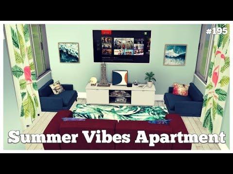 Les Sims 4 | DECO & CO #195 | SUMMER VIBES APARTMENT