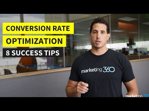 Conversion Rate Optimization - 8 Tips for Success   Marketing 360®