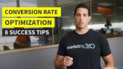 Conversion Rate Optimization - 8 Tips for Success