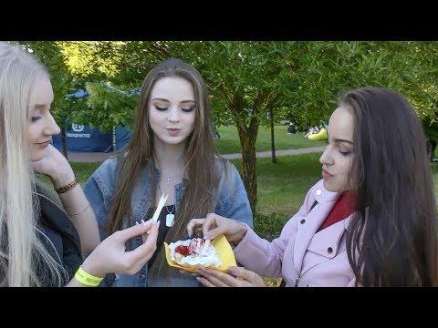 Huge Street Food Event. 'Vulitsa Ezha' Festival in Minsk, Belarus
