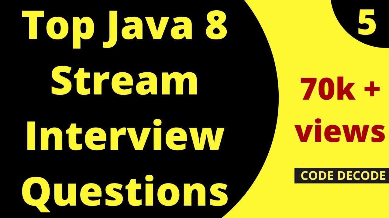 Java 8 Streams || Parallel Stream  || Stream API Interview Questions in Java 8 Part 1 (Live Demo)