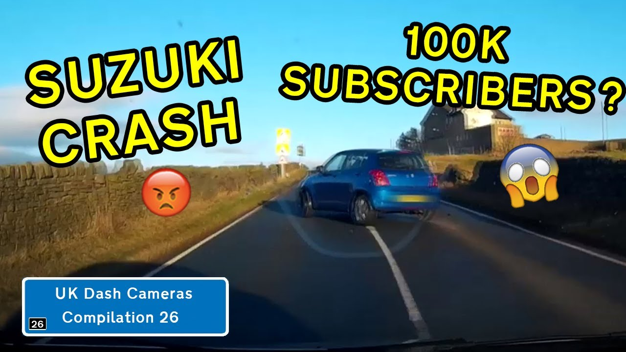 UK Dash Cameras - Compilation 26 - 2020 Bad Drivers, Crashes + Close Calls