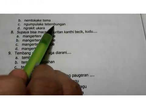 Gladhen Ulangan Akhir Semester Genap Kirtya Basa Kelas 7 Youtube