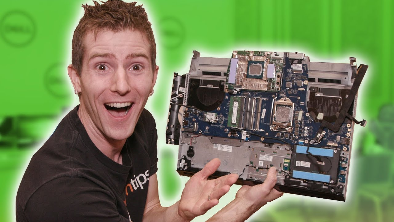 Alienware S Crazy Upgradeable Laptop Youtube