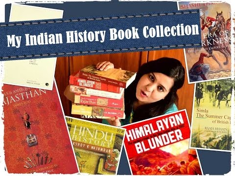 My Indian History Book Collection
