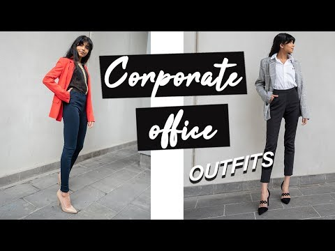 Professional Office Wear Lookbook | 1 Week of Work Outfits!