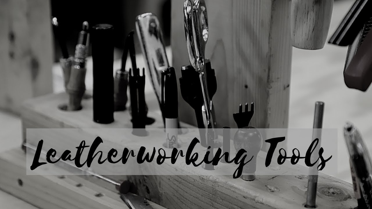 The Top 5 Leatherworking Tools Every Woodsman Needs!