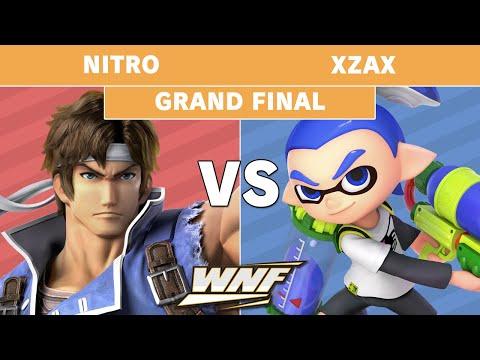 WNF 2.3 - Nitro (Richter) Vs. SCARZ | Xzax (Inkling) Losers Finals - Smash Ultimate
