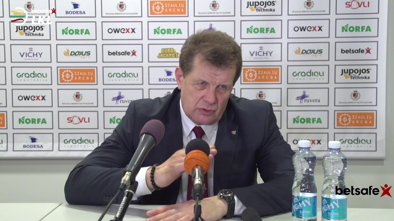 """""""Betsafe–LKL"""" rungtyniu komentarai: """"Šiauliai"""" - """"Žalgiris"""" [2018-04-02]"""