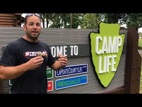 Steindler Signs & Camp Life