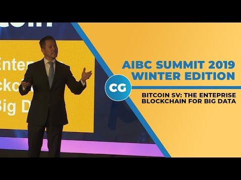 Bitcoin SV: The Enteprise Blockchain for Big Data