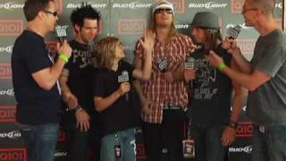 Puddle of Mudd Control Q101 Jamboree 2010!