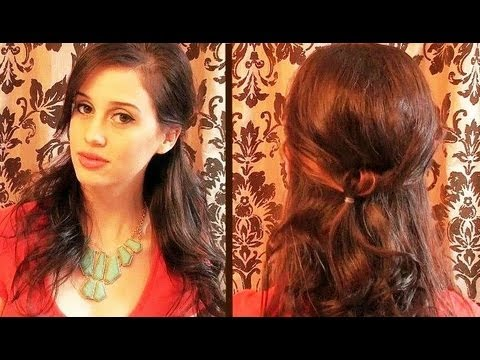 creative hairstyles bohemian knot