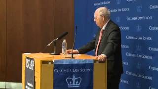 Ambassador Efraim Halevy at Columbia Law School
